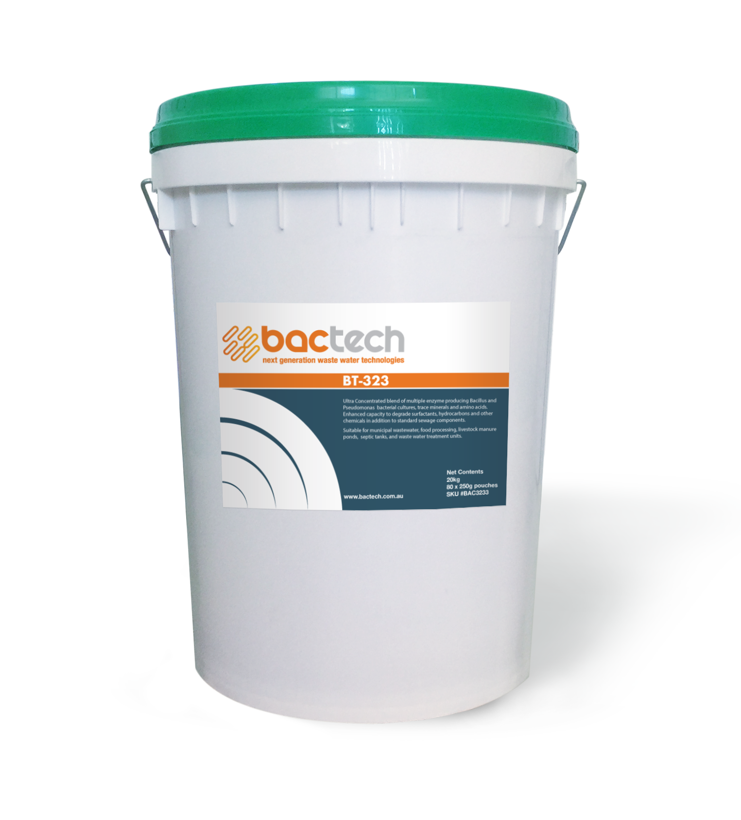 Bactech 323 - Bio bacterial Industrial Waste Water Treatment